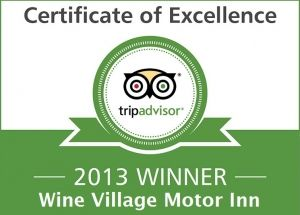 Tripadvisor Certificate of Excellent 2013